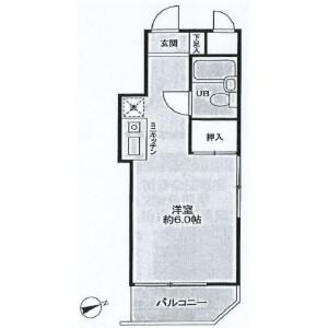 1R {building type} in Sakuradai - Nerima-ku Floorplan