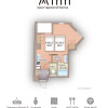 1R Serviced Apartment to Rent in Osaka-shi Fukushima-ku Floorplan