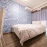在澀谷區內租賃私人 服務式公寓 的房產 臥室