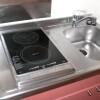 1K 아파트 to Rent in Kita-ku Kitchen