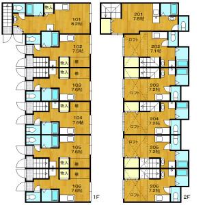 Whole Building {building type} in Matsubara - Setagaya-ku Floorplan