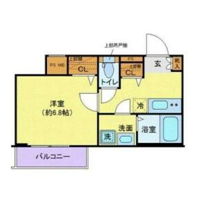 1K Mansion in Ikejiri - Setagaya-ku Floorplan