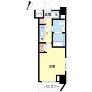 1K Mansion in Nakamurakita - Nerima-ku Floorplan