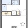 1K Apartment to Rent in Yachimata-shi Floorplan
