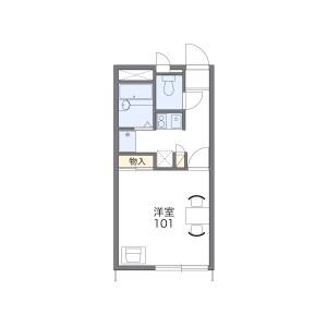 1K Apartment in Ogi - Yachimata-shi Floorplan