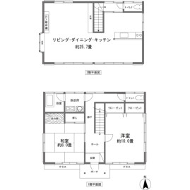 2LDK {building type} in Miyagino - Ashigarashimo-gun Hakone-machi Floorplan