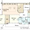 2SLDK Apartment to Buy in Yokohama-shi Nishi-ku Floorplan