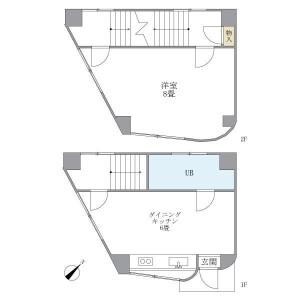 1DK Mansion in Arakicho - Shinjuku-ku Floorplan