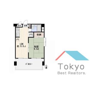 世田谷區北沢-1LDK公寓大廈 房間格局