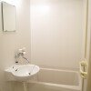 1K Apartment to Rent in Funabashi-shi Bathroom