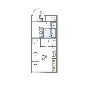 1K Apartment in Gokurakuji - Kamakura-shi Floorplan