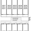 1K Apartment to Rent in Chiba-shi Chuo-ku Layout Drawing