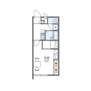1K Mansion in Nodake - Ginowan-shi Floorplan