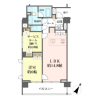 1SLDK Apartment to Buy in Meguro-ku Floorplan