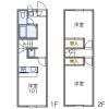 在國分寺市內租賃2DK 公寓 的房產 房間格局