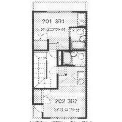 1R Mansion in Kowakae - Higashiosaka-shi Floorplan