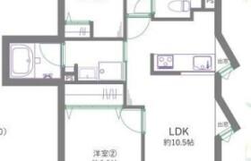 2LDK {building type} in Nishimizumoto - Katsushika-ku