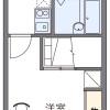 1K Apartment to Rent in Kai-shi Floorplan