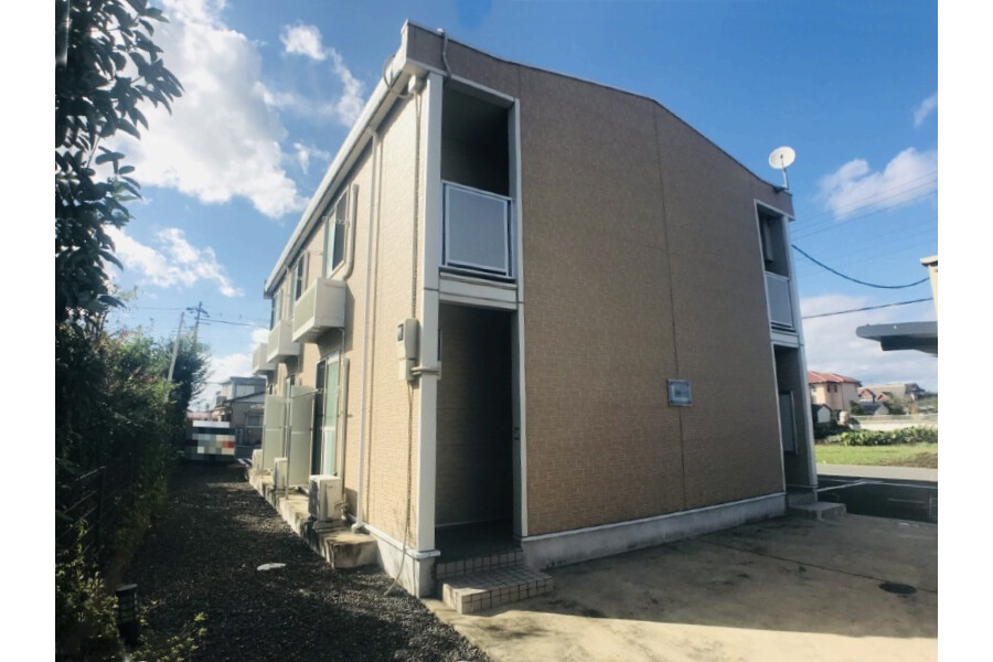 1K Apartment to Rent in Mito-shi Exterior