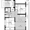 3DK Apartment to Rent in Ube-shi Floorplan