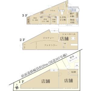 Whole Building {building type} in Kusauchi - Kyotanabe-shi Floorplan