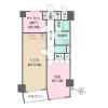 1SLDK Apartment to Rent in Setagaya-ku Floorplan