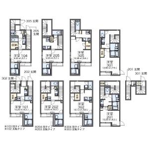 1K Apartment in Sendagaya - Shibuya-ku Floorplan