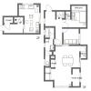 4LDK Apartment to Rent in Ota-ku Floorplan