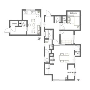 4LDK Mansion in Nishikamata - Ota-ku Floorplan