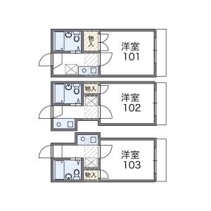 1K Apartment in Shirokane - Minato-ku Floorplan