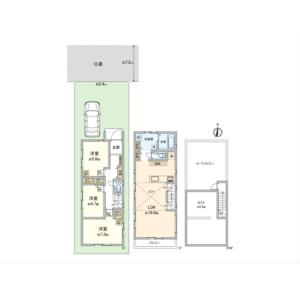 3LDK {building type} in Igusa - Suginami-ku Floorplan
