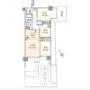 2SLDK Apartment to Buy in Yokohama-shi Kanagawa-ku Floorplan