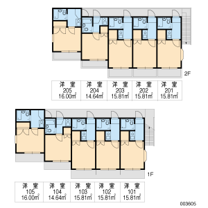 1K Apartment in Ishizu motomachi - Neyagawa-shi Floorplan
