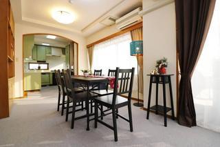 3LDK Apartment to Rent in Nakano-ku Living Room