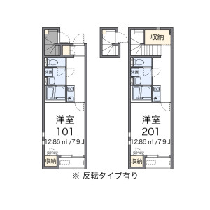 1K Apartment in Nakazato - Kita-ku Floorplan