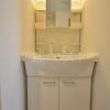 1K Apartment to Rent in Osaka-shi Abeno-ku Washroom