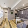 在大阪市淀川区内租赁1R 服务式公寓 的 起居室