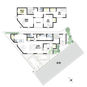 4SLDK {building type} in Onoharahigashi - Mino-shi Floorplan