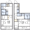 1K Apartment to Rent in Shiraoka-shi Floorplan