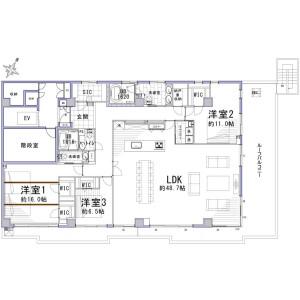 4SLDK {building type} in Daimachi - Yokohama-shi Kanagawa-ku Floorplan