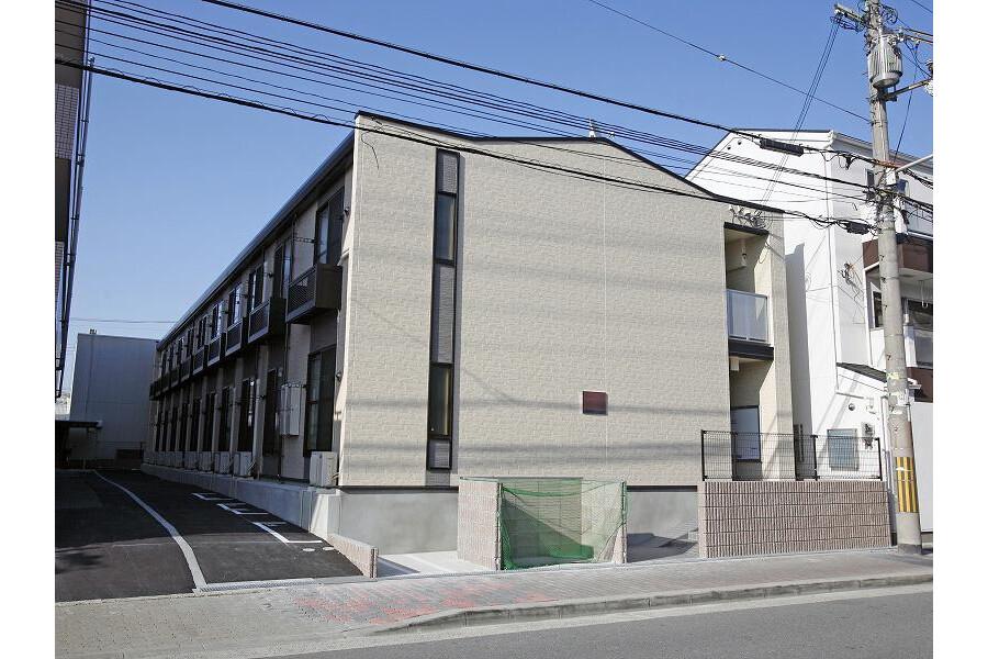 1K Apartment to Rent in Osaka-shi Asahi-ku Exterior