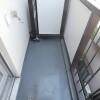 2K Apartment to Rent in Meguro-ku Balcony / Veranda
