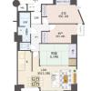 2SLDK Apartment to Buy in Osaka-shi Higashinari-ku Interior