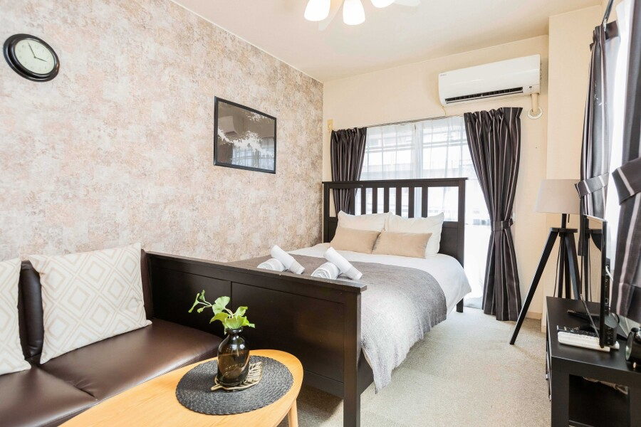 1DK マンション 新宿区 ベッドルーム
