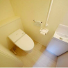 2LDK Terrace house to Rent in Komae-shi Toilet