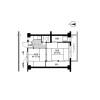 2K Apartment to Rent in Mizuho-shi Floorplan