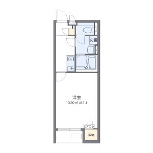 1K Apartment in Kamatsuka - Konosu-shi Floorplan