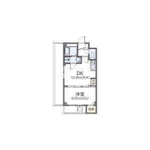 1DK Mansion in Takashimadaira - Itabashi-ku Floorplan