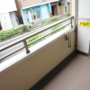 在涩谷区内租赁1DK 公寓大厦 的 阳台/走廊