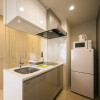 1R Serviced Apartment to Rent in Osaka-shi Fukushima-ku Kitchen